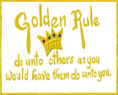 Image result for the golden rule definition