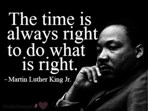 Martin Luther King Quotes Tumblr: A Lesson From Dr. King